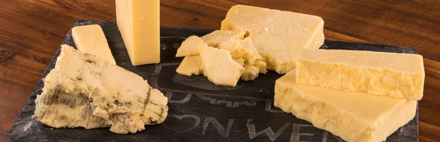 Calon Wen Cheese Board