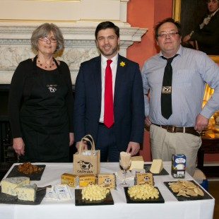 Margaret and Dai with Stephen Crabb MP
